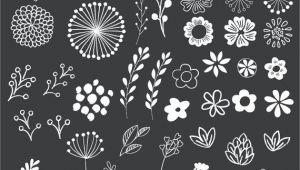 Drawing Flowers On Chalkboard Chalkboard Floral Clipart Clip Art Floral Clipart Chalk