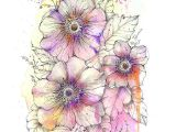 Drawing Flowers with Watercolor Pencils Iconosquare Instagram Webviewer Flowers Pinterest Watercolor