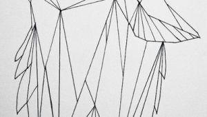 Drawing Geometric Wolf Geometric Wolf by Koolio1715 On Art Drawings Geometric Wolf Art