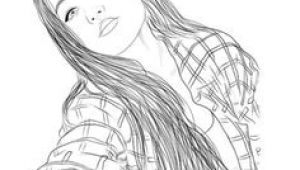 Drawing Girl Face Tumblr 137 Best Tumblr Girl Outlines Images Pencil Drawings Tumblr