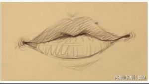 Drawing Girl Mouth Female Mouth Drawing Example Doodling and Drawing Lips Drawings
