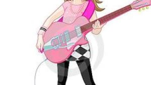 Drawing Girl Playing Guitar 224 Best Girls with Guitars Images Character Design Drawings