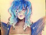 Drawing Girl Robot Insta Komunhorangi Komunhorangi Pinterest