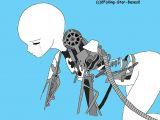 Drawing Girl Robot Pin by Rexile On Drawing Robot Girl Robot Drawing Base