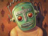Drawing Girl Robot Retro Robot Face Robot Pinterest Art Pop Surrealism and