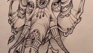 Drawing Girl Tattoo Design Elephant Design by Nina Beautiful Freak Tattoo Belgium Tattoo