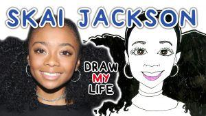 Drawing Girl Twerking Skai Jackson Draw My Life Video Dailymotion