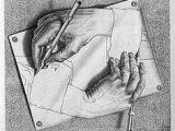 Drawing Hands 1948 146 Best M C Escher Images Printmaking Drawings Woodcut Art
