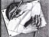 Drawing Hands Escher Analysis Huang Kid Khronicles October 2015