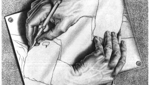 Drawing Hands Mc Pin by Darlene Knoll On Whimsy Pinterest Drawings Escher