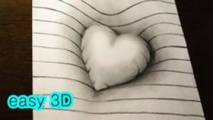 Drawing Heart Trick On Line Paper Trick Art On Line Paper Drawing 3d Hole Youtube Homeschool Art