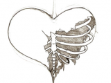 Drawing Heart with Pencil Emo Drawings Od Broken Hearts Broken Hearts Cool Art Drawings