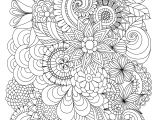 Drawing Ideas Advanced Flowers Abstract Coloring Pages Colouring Adult Detailed Advanced