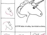 Drawing Ideas Easy Unicorn 128 Best Kawaii and Doodles Drawings Step by Step Images Doodle