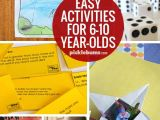Drawing Ideas for 8 Year Olds Ten Easy Activities for 6 10 Year Olds Fun Activities to Do with