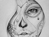 Drawing Ideas Girl Face 269 Best Draw Images Skull Tattoos Drawings Skull
