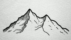 Drawing Ideas Mountains Minimalistic Tattoo Ideas Mountains Tats Drawings Art Art
