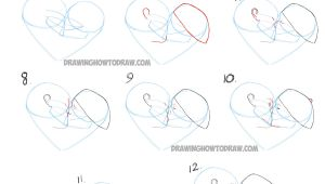 Drawing Ideas with Steps How to Draw Romantic Kisses Between Two Lovers Step by Step