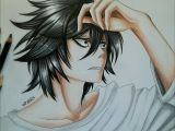 Drawing L Lawliet Cakes before Justice Madpatti L Death Note Death Note