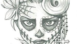Drawing Lady Skull Sugar Skull Lady Drawing Sugar Skull Two by Leelab On Deviantart
