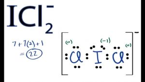 Drawing Lewis Dot Structures Icl2 Lewis Structure How to Draw the Lewis Structure for Icl2