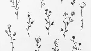 Drawing Little Flowers some Floral Designs Blue Tattoo Designs Tattoos Drawings