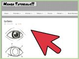 Drawing Manga Eyes Step by Step How to Draw Manga On A Computer 5 Steps with Pictures Wikihow
