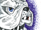 Drawing N Painting Classes Here S My Pointillist Cujo Got A Picture You D Like to Draw Paint