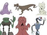 Drawing now Cartoon Characters Animation Foundations Drawing Cartoon Characters