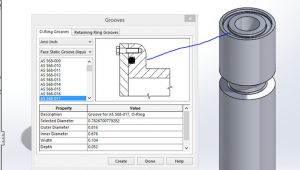 Drawing O-ring solidworks the Hidden Treasures Of solidworks toolbox Part 3 Computer Aided