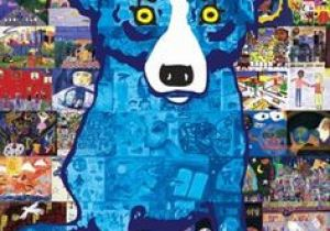 Drawing Of A Blue Dog 38 Best Rodrigue S Blue Dog Images Blue Dog Painting Dog
