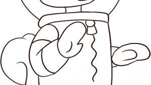 Drawing Of A Cartoon Bed Spongebob Character Drawings with Coor Characters Cartoons Draw