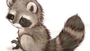 Drawing Of A Cute Raccoon It S A Racoon by Liedeke Deviantart Com On Deviantart Animals