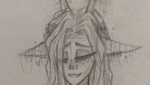 Drawing Of A Deer Girl Deer Girl Drawing Drawings Pinterest Drawings My Drawings and