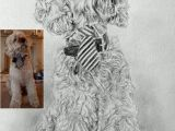 Drawing Of A Dog Black and White Pin Od Betulek Handmade Jewelry Crochet Knitting Lifestyle Na