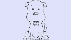 Drawing Of A Dog Cartoon 6 Easy Ways to Draw A Cartoon Dog with Pictures Wikihow