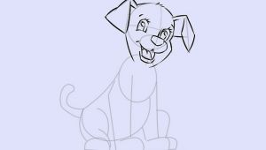 Drawing Of A Dog Pooping 6 Easy Ways to Draw A Cartoon Dog with Pictures Wikihow