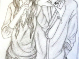 Drawing Of A Girl and Boy Holding Hands Drawing Boy Girl Awesome Art Cute Couple Drawings