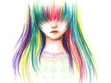 Drawing Of A Girl Colored Colored Pencils Drawings Clipart Panda Free Clipart Images