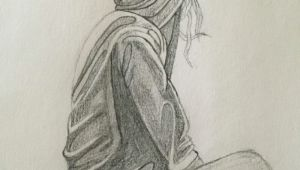 Drawing Of A Girl Depressed Depression Sketch Quote Sketch Pinterest Draw Sketches and Art