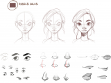 Drawing Of A Girl Face Step by Step How is Digital Drawing Different From Traditional Art