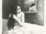 Drawing Of A Girl Holding A Mirror 598 Best Art In Black White Sepia Images Printmaking Drawings