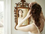 Drawing Of A Girl Holding A Mirror How to Choose A Mirror that S Perfect for Your Wall