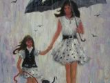 Drawing Of A Girl Holding An Umbrella 2176 Best Umbrella Art Images Umbrella Art Drawing S Faces