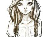 Drawing Of A Girl In A Beanie D D N D D N D N D D D D D D Fashion Illustrations Drawings Cool Drawings