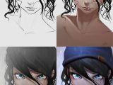 Drawing Of A Girl In A Beanie Steps Process Portrait Animegirl Anime Manga Rain Cute