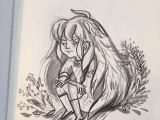 Drawing Of A Girl In Winter A Little Winter Girl Drawing She S Thinking About Stomping On some
