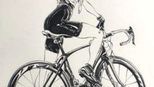 Drawing Of A Girl On A Bike 66 Best Cycling Images In 2019 Bicycle Art Bike Art Road Racer Bike