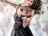 Drawing Of A Girl Playing Violin 270 Best the Violinist In Art Images In 2019 Art Music Music