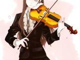 Drawing Of A Girl Playing Violin Violin A Violin A Pinterest Anime Anime Music and Anime Art